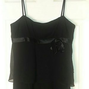 Nine West 100% Silk Tiered Party  or Event Dress